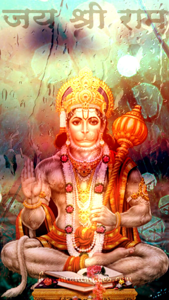 radiant image of almighty lord hanuman for wallpaper