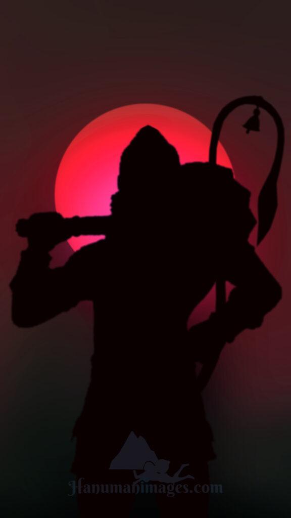 hanuman powerful image hd phone wallpaper